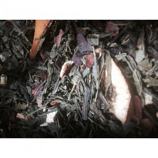 Πράσινο τσάι σοκολάτα, πορτοκάλι 100γρ ΤΣΑΙ