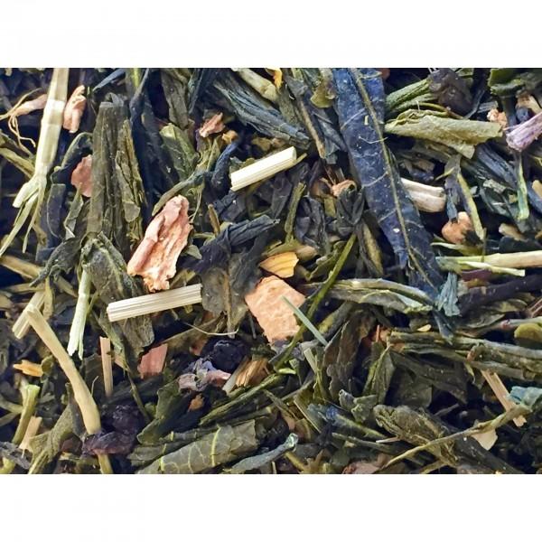 Πράσινο τσάι λεμόνι, τζίντζερ 100γρ  ΤΣΑΙ